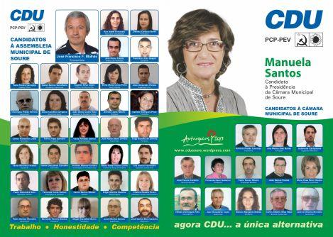 CDU 2013 lista câmara municipal FINAL 01